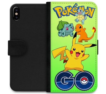 Apple iPhone X / Xs Plånboksfodral Pokemon Go - CDON.COM