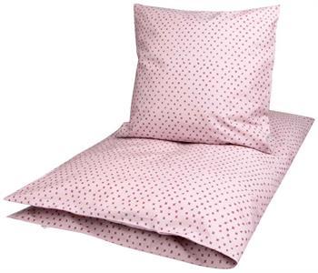 Økologisk Baby sengetøj - Freds World - 70x100 cm - Cross rose - Home-tex