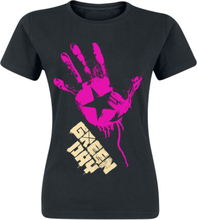 Green Day - Star Hand -T-skjorte - svart