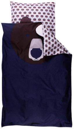 Økologisk sengetøj - Freds World - 140x200 cm - Bjørn - Home-tex