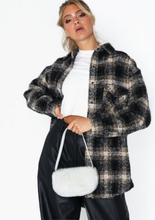 NLY Accessories Mini Fur Bag Handväskor