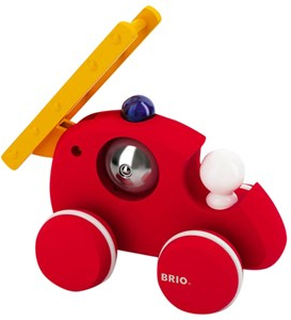 BRIO BRIO Baby - 30197 Brandbil med Ringklocka