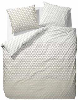 Esprit Sengesæt - 140x200 cm - Esprit Mina beige sengetøj
