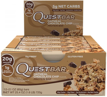 12 x Quest Bar, 60 g, Chocolate Chip Cookie Dough