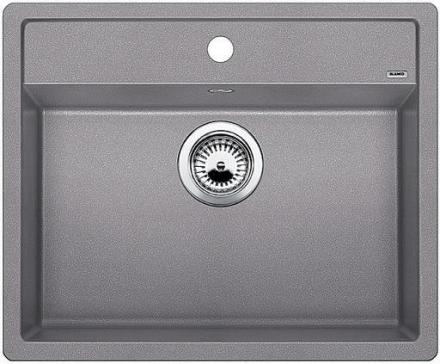 Blanco Dalago 6-F UX Køkkenvask 60,5x50 cm, Silgranit, Aluminium