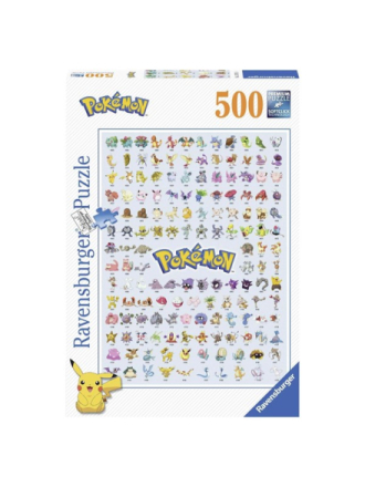 Pokemon Puzzle 500st.