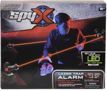 SpyX, Laserfälla med alarm