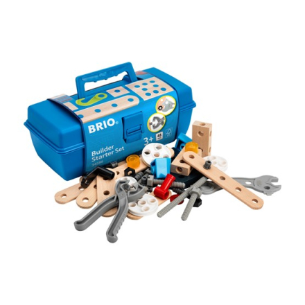 BRIO, Builder 34586 Byggsats för nybörjare
