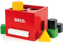 BRIO, 30148 Sorteringslåda, röd