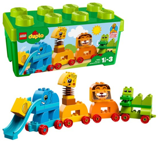 LEGO DUPLO My First 10863, Mitt första djur – Klosslåda