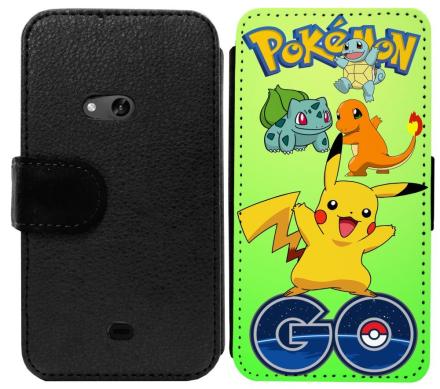 Nokia Lumia 625 Plånboksfodral Pokemon Go - CDON.COM