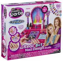 Cra-Z-Art Shimmer 'n Sparkle, Crazy Lights Super Nail Salon