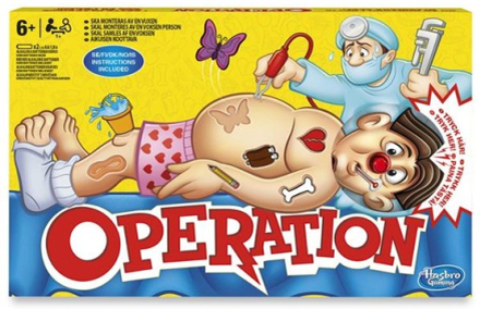 Hasbro Operation - New Refresh (Sv)