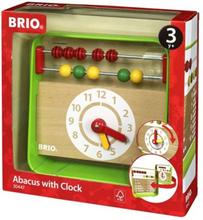 BRIO - 30447 Abacus med klocka