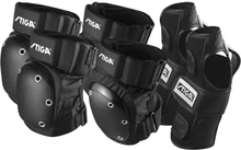 STIGA, Protection set, Pro 3 delar, svart storlek L