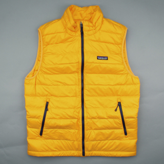Patagonia Vest Down Sweater Rugby Yellow
