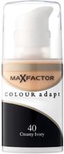 Max Factor Colour Adapt Foundation 40 Cream Ivory