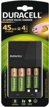 Duracell Hi-Speed Akkulaturi AA/AAA