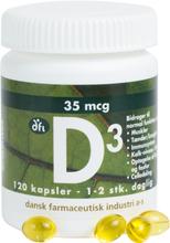 DFI Vitamin-D3 35 mcg 120 stk