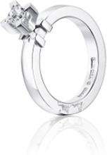 Efva Attling Dolce Vita Princess Ring Vitguld 0,40 Ct