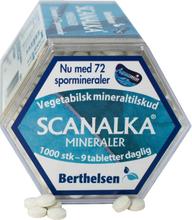 Berthelsen Scanalka Mineralien Pflanzlich 1000 stk