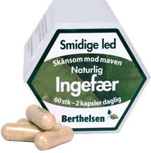 Berthelsen Reiner Ingwer 400 mg 60 stk