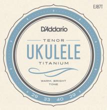 Daddario EJ87T Tenor Ukule String Set