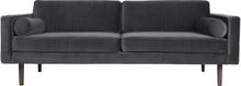 Wind 3-sits soffa magnet (grå)