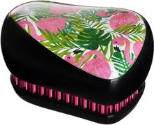 Tangle Teezer Compact Styler Skinny Dip Palm Flamingo