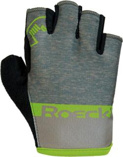 Roeckl Ziros Handskar Barn grå/grön 5 2019 Cykelhandskar för barn
