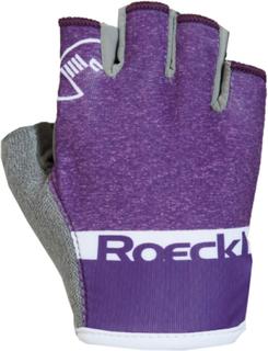 Roeckl Ziros Handskar Barn grå/violett 7 2019 Cykelhandskar för barn