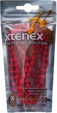 XTENEX Sport Laces 75cm red 2019 Skotillbehör