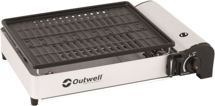 Outwell Crest Grill grå/hvid 2019 Gasgrill