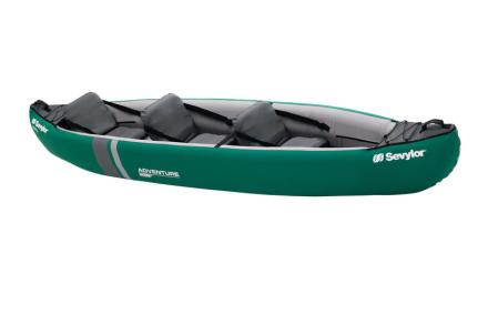 Sevylor Adventure Plus vene , harmaa/vihreä 2018 Kajakit & Kanootit