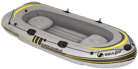 Sevylor Supercaravelle XR116GTX Båd grå 2018 Gummibåde