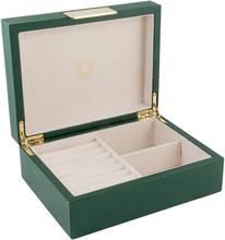 Dacapo Smyckeskrin Stories Grön PU 20,5×15,5×8,0cm