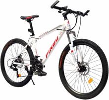 Cykel erbjudande: Pinbo Mountainbike med 21 shimano växlar (Vit)