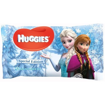 Huggies Baby-Feuchttücher Disney's Frozen 56 stk