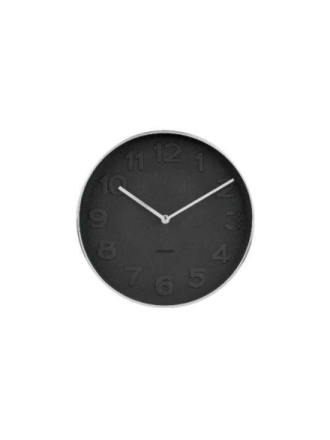 Mr. Black Wall Clock