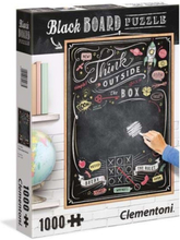 1000 pcs- CHALKBOARD Puzzle Think Outside the box