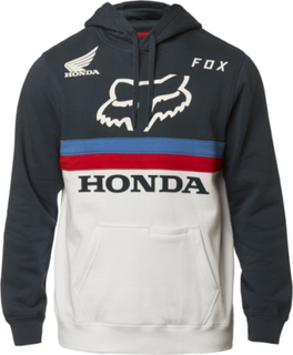 FOX Honda X Hoodie Vit Blå 2XL