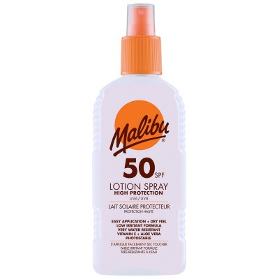 Malibu Sun Lotion Spray SPF50 200 ml