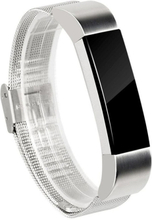 Milanese stainless steel watch strap for Fitbit Alta - Silver