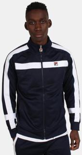 Fila Renzo Panelled Track Jacket Peacoat