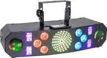 Ibiza 4-i-ett ljuseffekter med DMX