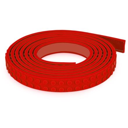 Mayka byggeklodstape S 1m Rød - Lekmer