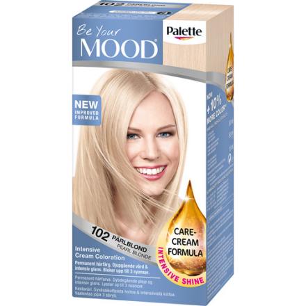 Mood Haircolor 102 Pearl Blonde