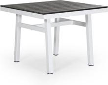 Bergerac matbord Vit med nonwood 90x90 cm