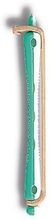 Permanentspoler 12 stk. 0.9/9.5 cm. - grønn/hvit