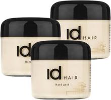 3-Pack Id Hair Hard Gold 100ml